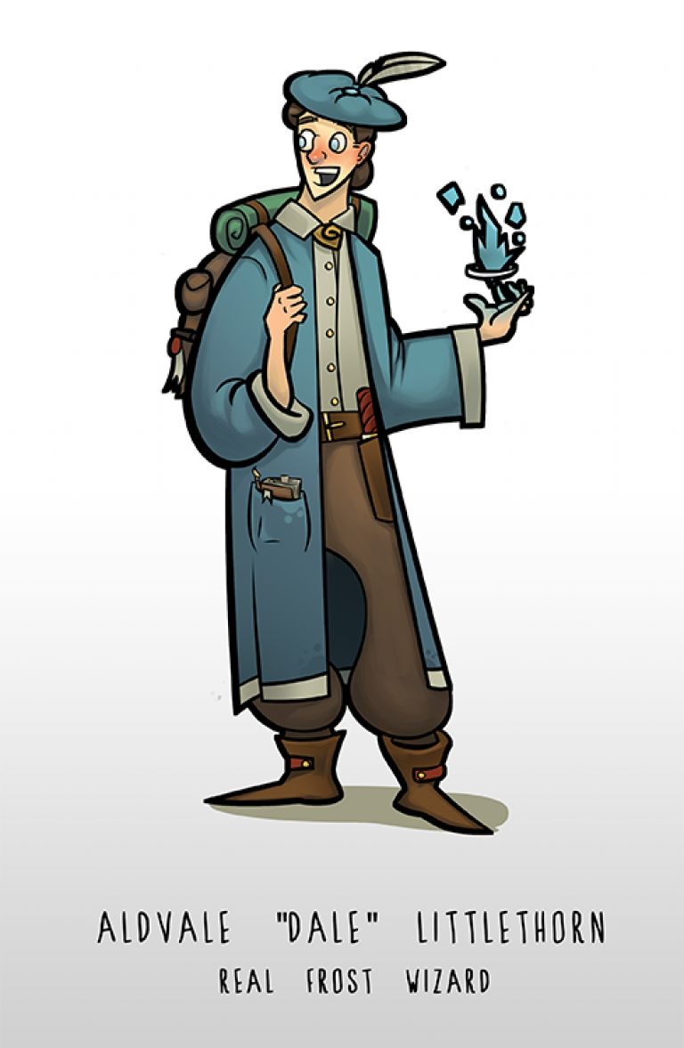 Dale - Pathfinder character